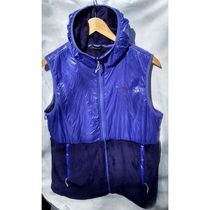 The North face nylon/fleece vest
